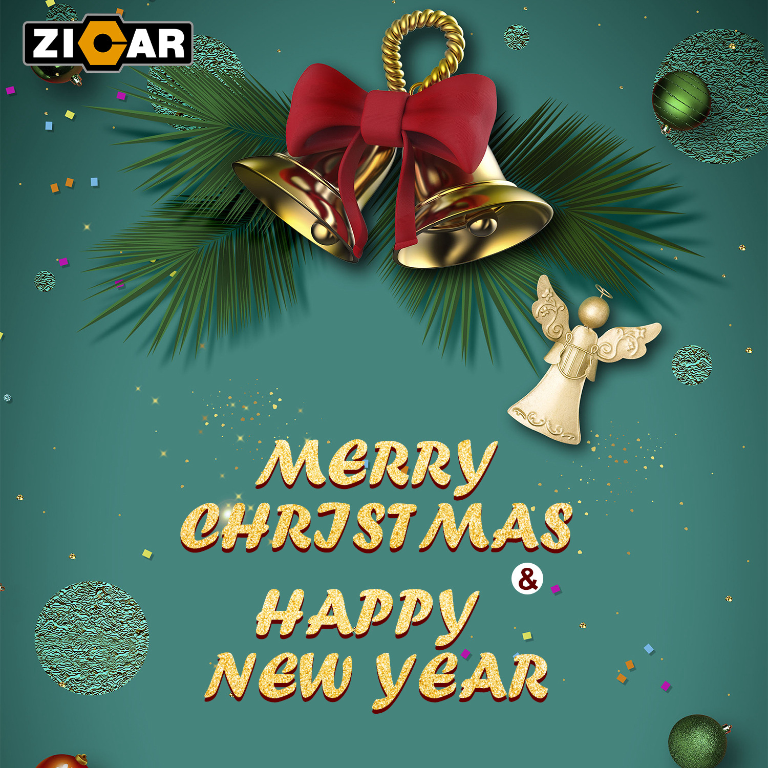 Zicar wish you Merry Christmas and Happy New Year!