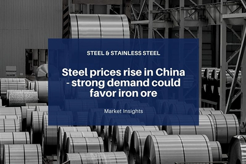 The soaring prices of iron and steel has created a black whirlwind in the machinery market in China.